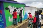 Muurschildering Guatemala van start ... een droom wordt werkelijkeid!