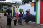 Mega muurschildering Guatemala klaar!