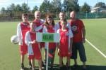 Team Kelmé neemt deel aan Internationaal voetbaltoernooi