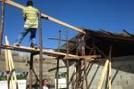 Bouw van nieuwe klaslokalen bij school Puerto Plata hervat