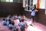 Team Colour4kids in Nepal ... onwijs goed bezig