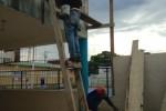Uitbreiding school Puerto Plata in eindfase