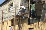 Werk in uitvoering in de Dominicaanse Republiek