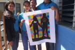Concept muurschildering Guatemala klaar